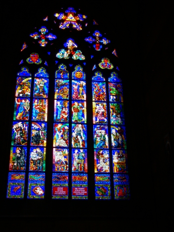 中欧家族旅行2012年08月-第九日目-チェコ・プラハ、プラハ城(II)、聖ヴィート大聖堂_c0153302_14275929.jpg