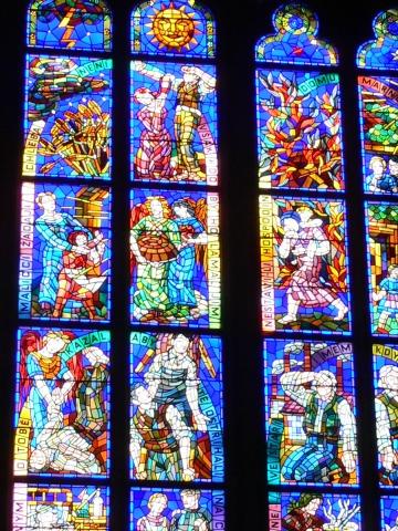 中欧家族旅行2012年08月-第九日目-チェコ・プラハ、プラハ城(II)、聖ヴィート大聖堂_c0153302_1428770.jpg