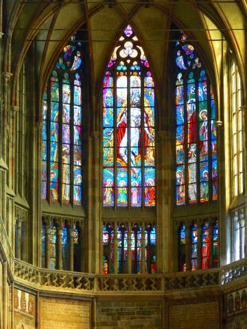 中欧家族旅行2012年08月-第九日目-チェコ・プラハ、プラハ城(II)、聖ヴィート大聖堂_c0153302_14325441.jpg