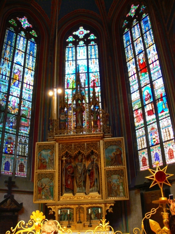 中欧家族旅行2012年08月-第九日目-チェコ・プラハ、プラハ城(II)、聖ヴィート大聖堂_c0153302_14425172.jpg