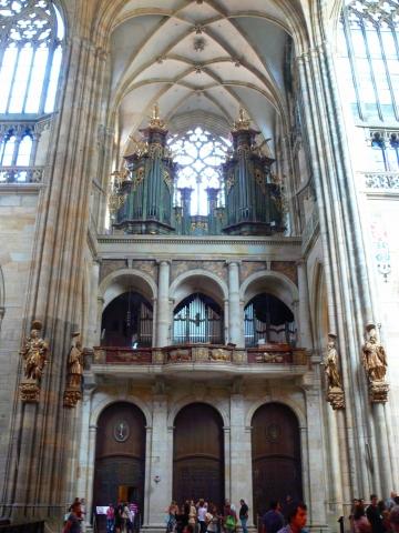 中欧家族旅行2012年08月-第九日目-チェコ・プラハ、プラハ城(II)、聖ヴィート大聖堂_c0153302_14472916.jpg