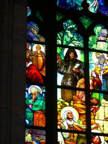 中欧家族旅行2012年08月-第九日目-チェコ・プラハ、プラハ城(II)、聖ヴィート大聖堂_c0153302_15253240.jpg