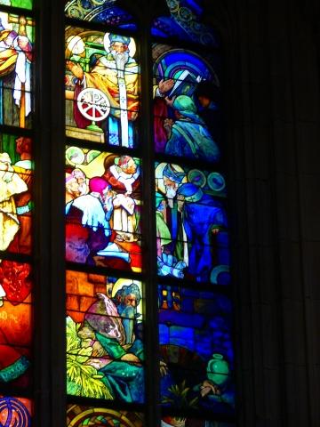 中欧家族旅行2012年08月-第九日目-チェコ・プラハ、プラハ城(II)、聖ヴィート大聖堂_c0153302_1525719.jpg