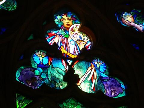 中欧家族旅行2012年08月-第九日目-チェコ・プラハ、プラハ城(II)、聖ヴィート大聖堂_c0153302_15265474.jpg