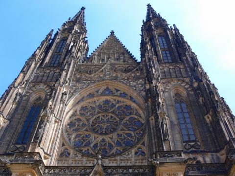 中欧家族旅行2012年08月-第九日目-チェコ・プラハ、プラハ城(II)、聖ヴィート大聖堂_c0153302_9164838.jpg