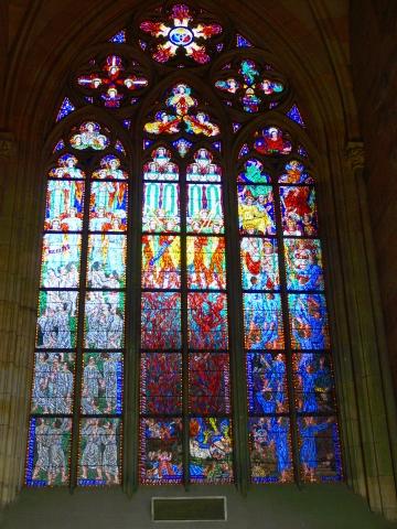 中欧家族旅行2012年08月-第九日目-チェコ・プラハ、プラハ城(II)、聖ヴィート大聖堂_c0153302_917510.jpg