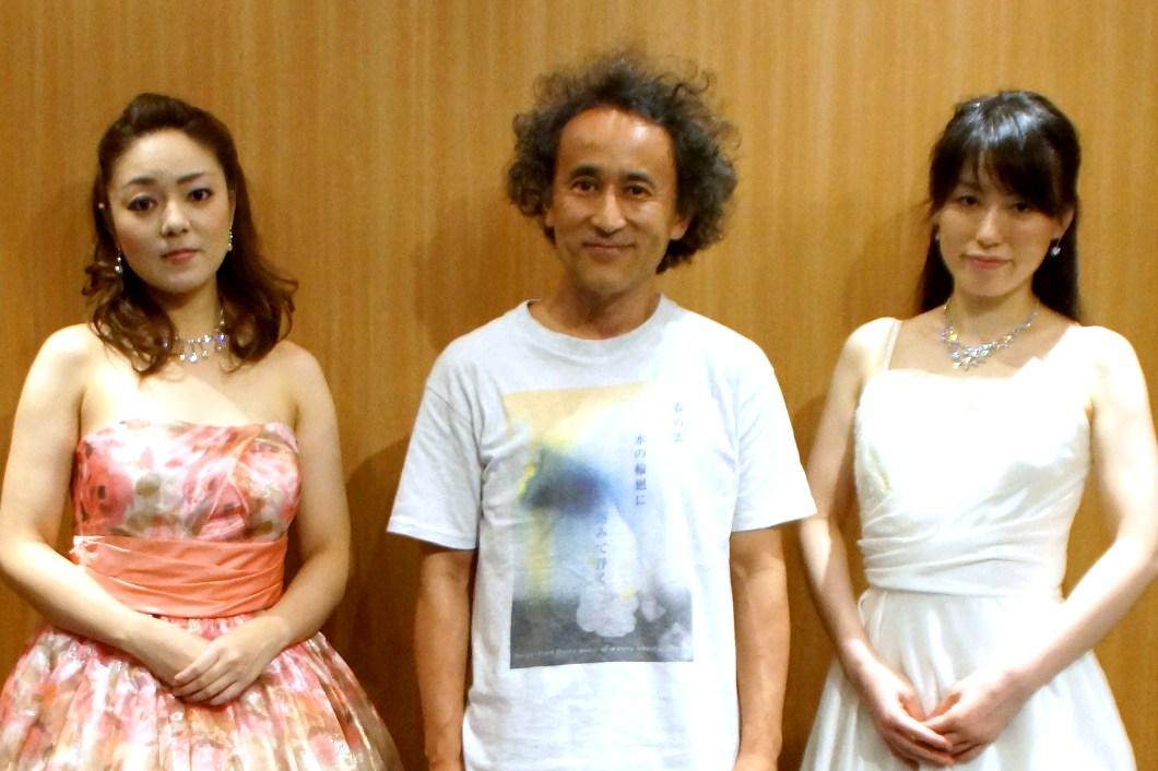 コロラトゥーラ・ソプラノ:斉藤園子さん&ピアノ:小越由果さんコンサート@デザインKホール六本木_f0006713_2129559.jpg