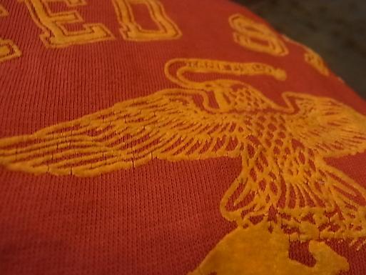 7/27(土)入荷!70-80'S ALL COTTON フロッキープリント U.S マリンコープ Tシャツ!_c0144020_1340019.jpg
