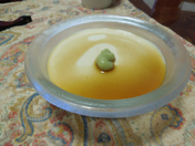 冷たい胡麻豆腐、冷たいガスパチョ_f0101128_840122.jpg