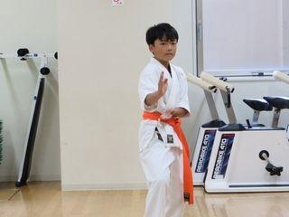 土曜日空手 夏季昇級審査会_c0118332_23215584.jpg