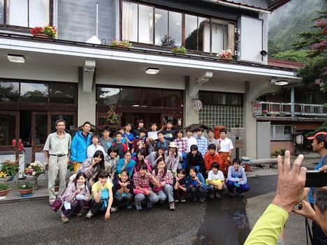 成城学園槍ヶ岳1班出発_f0219043_14562056.jpg