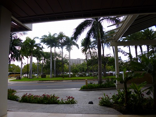 ハワイ☆2013~最終日はトランプで朝食を。_f0207146_10403916.jpg