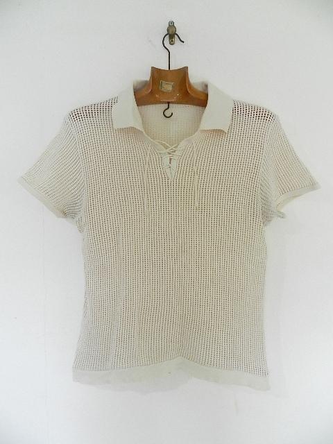 Vntage mesh skipper polo shirts_f0226051_12542050.jpg