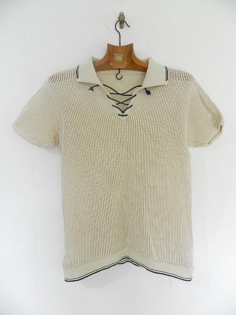 Vntage mesh skipper polo shirts_f0226051_12552261.jpg