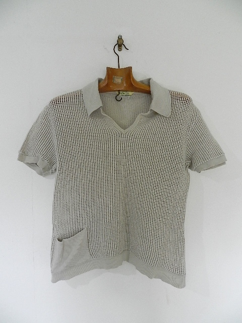 Vntage mesh skipper polo shirts_f0226051_12575229.jpg