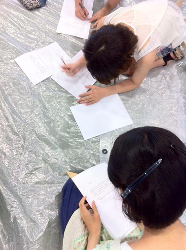 京都市立芸術大学のワークショップに参加/基礎科_f0227963_10254751.jpg