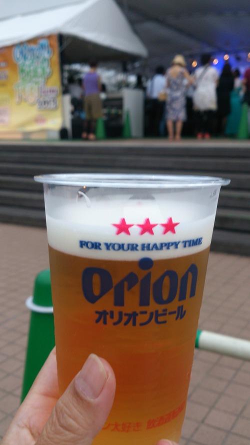 新宿の沖縄♪ @オリオンビアフェスト イン イセタン_c0100865_7494929.jpg