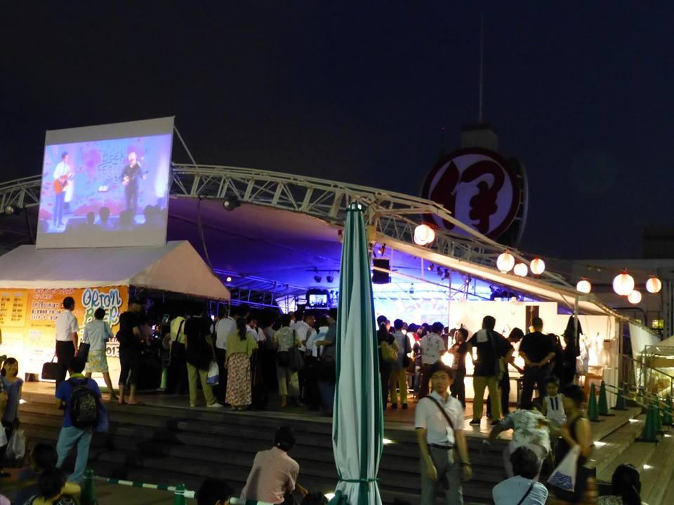 新宿の沖縄♪ @オリオンビアフェスト イン イセタン_c0100865_8124386.jpg