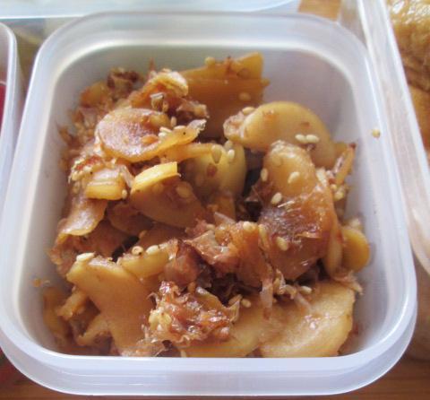 7.28 サラダうどんのお弁当と常備菜作り(2)_e0274872_16143354.jpg