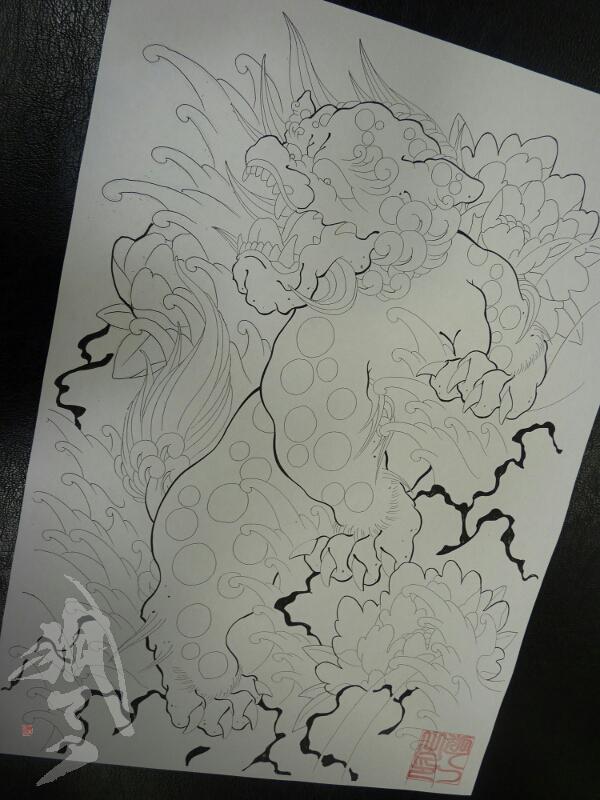 tattooと下絵_e0261276_17381534.jpg