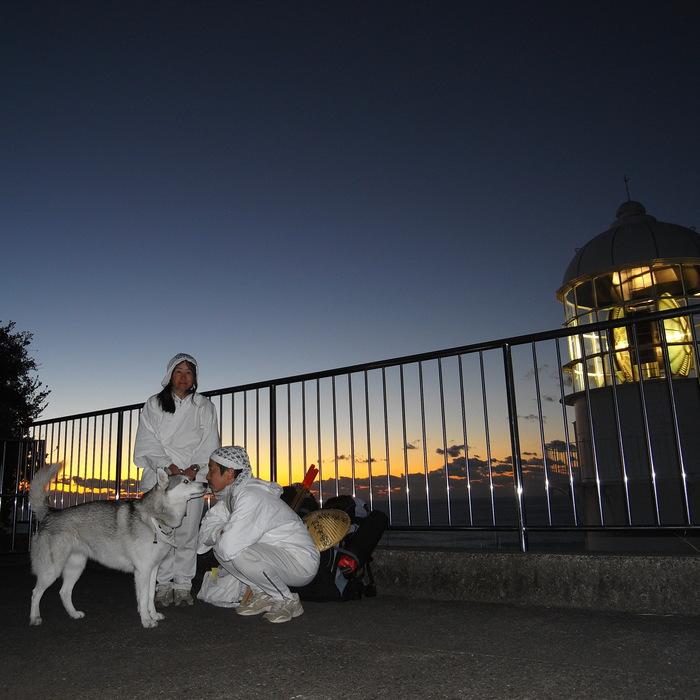Memory of the second pilgrimage with husky HANA_c0049299_15271578.jpg