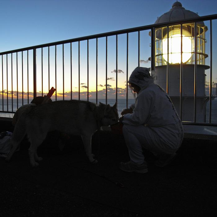 Memory of the second pilgrimage with husky HANA_c0049299_15282879.jpg