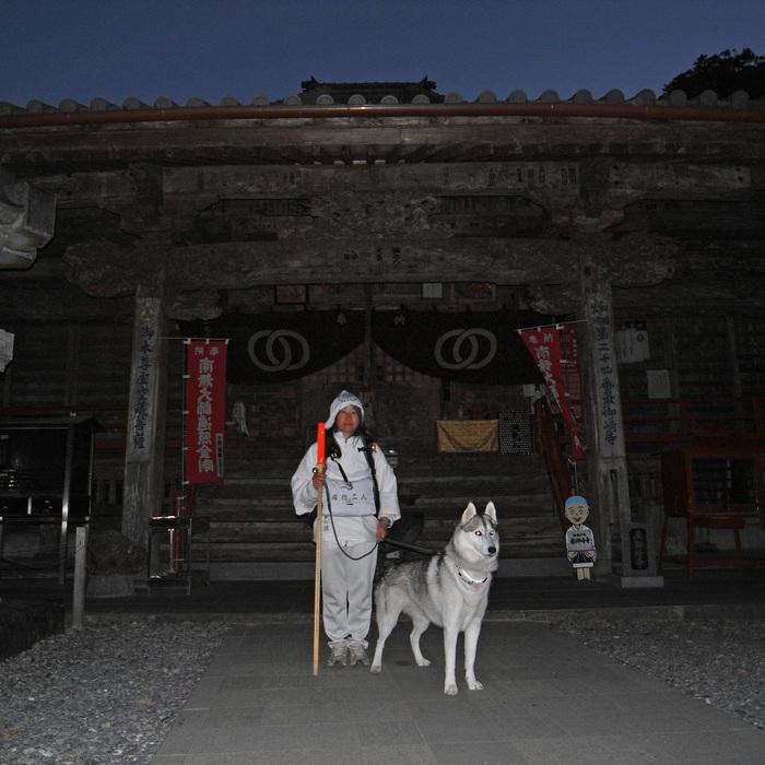 Memory of the second pilgrimage with husky HANA_c0049299_15292588.jpg