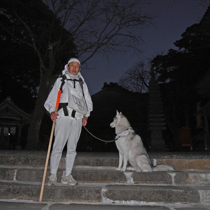 Memory of the second pilgrimage with husky HANA_c0049299_15293995.jpg