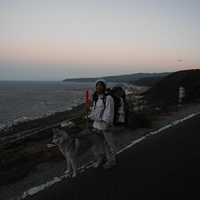 Memory of the second pilgrimage with husky HANA_c0049299_15301749.jpg