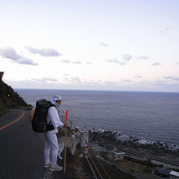 Memory of the second pilgrimage with husky HANA_c0049299_1530369.jpg