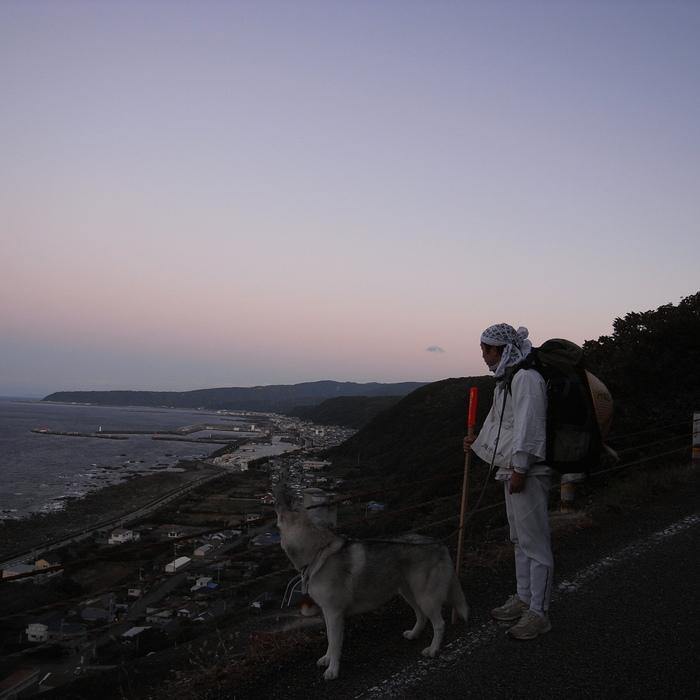 Memory of the second pilgrimage with husky HANA_c0049299_1531129.jpg