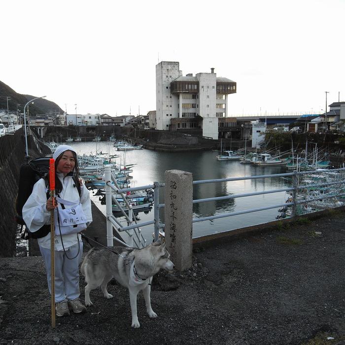 Memory of the second pilgrimage with husky HANA_c0049299_15352652.jpg
