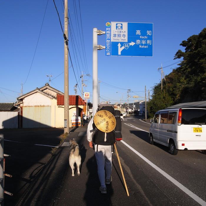 Memory of the second pilgrimage with husky HANA_c0049299_15361196.jpg
