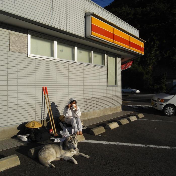 Memory of the second pilgrimage with husky HANA_c0049299_19185489.jpg
