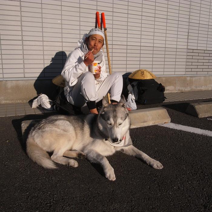 Memory of the second pilgrimage with husky HANA_c0049299_19194762.jpg