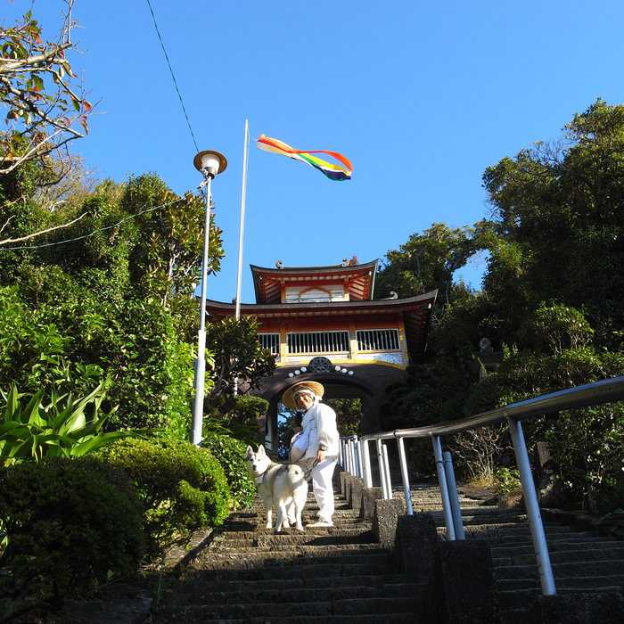 Memory of the second pilgrimage with husky HANA_c0049299_1923472.jpg