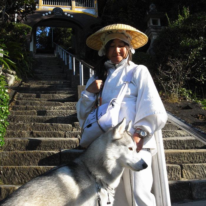 Memory of the second pilgrimage with husky HANA_c0049299_19235935.jpg