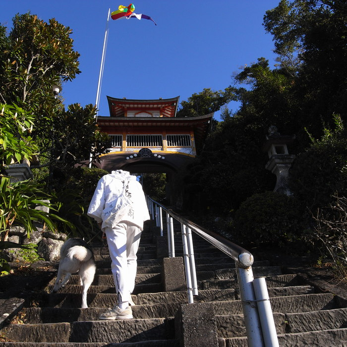 Memory of the second pilgrimage with husky HANA_c0049299_19236100.jpg