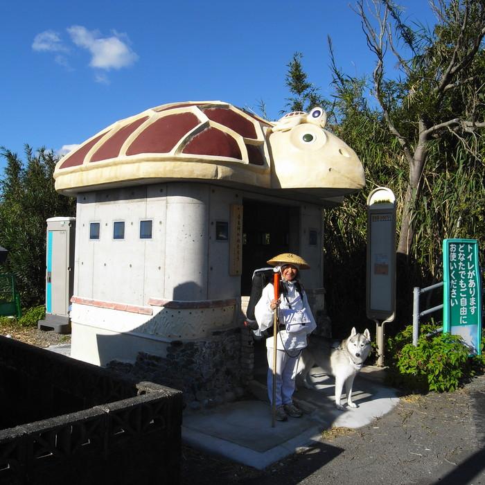 Memory of the second pilgrimage with husky HANA_c0049299_19314371.jpg