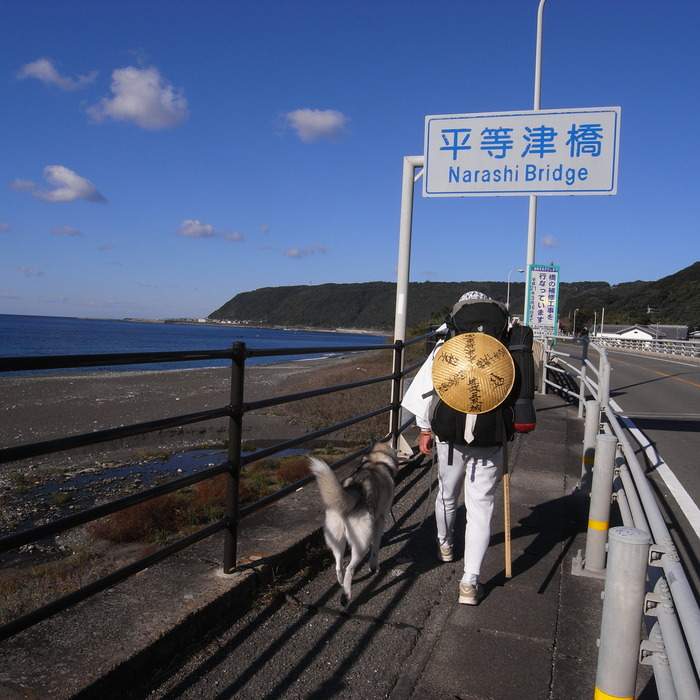 Memory of the second pilgrimage with husky HANA_c0049299_19325822.jpg