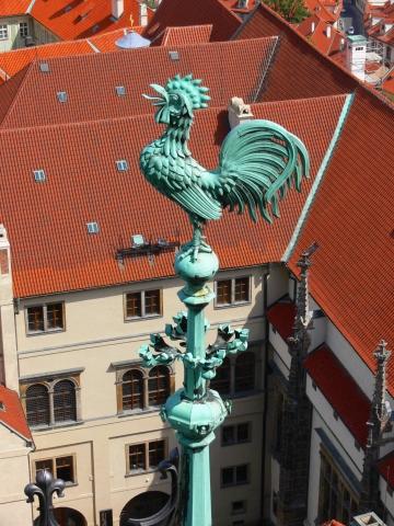 中欧家族旅行2012年08月-第九日目-チェコ・プラハ、プラハ城(III)、聖ヴィート大聖堂鐘楼とプラハの眺め_c0153302_15464933.jpg