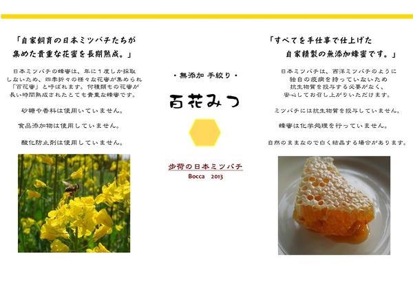 「百花みつ 2013」_a0120513_20533924.jpg