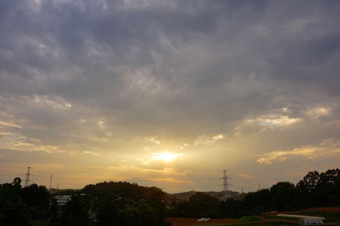 夏光芒の夕_e0077521_22145493.jpg