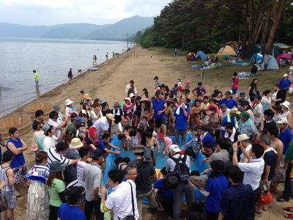 猪苗代湖 湖まつり_f0259324_17213424.jpg
