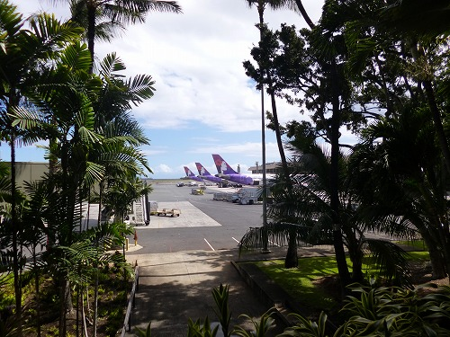 ハワイ☆2013~ホノルル空港で、最後の乾杯_f0207146_12235136.jpg