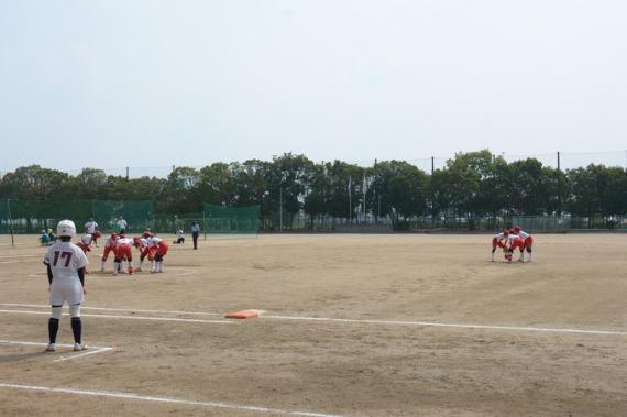 大阪準決勝 岸城中_b0249247_2321466.jpg