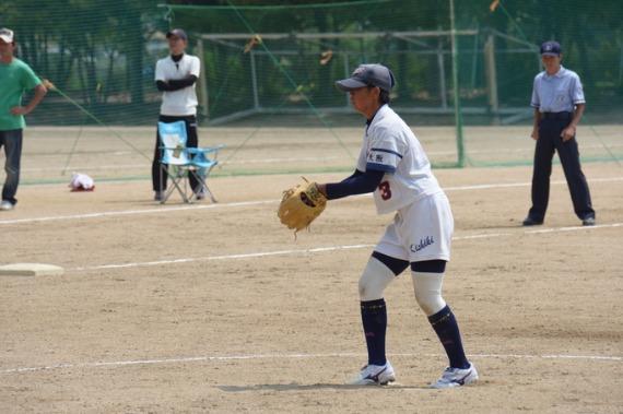 大阪準決勝 岸城中_b0249247_23352747.jpg