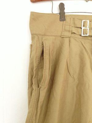 Italian army chino shorts old type_f0226051_19274546.jpg