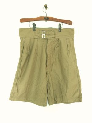 Italian army chino shorts old type_f0226051_19274587.jpg