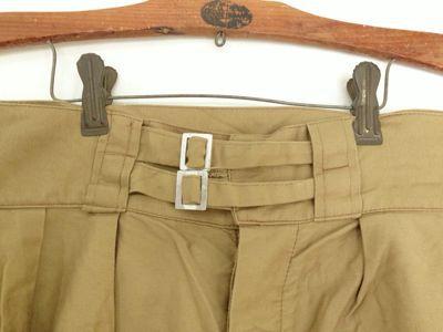 Italian army chino shorts old type_f0226051_19274666.jpg